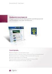 Case Study der Stadt Hagen