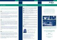 Infoflyer zum Forum 2007 - HLP Informationsmanagement  GmbH