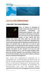 U-Boot Wikis in Unternehmen - HLP Informationsmanagement  GmbH