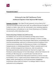 Die Meldung zum Download - HLP Informationsmanagement  GmbH