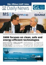 SMM focuses on clean, safe and energy-efficient - Shipandoffshore.net
