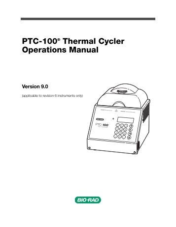 Operating Manual PTC Thermistor Relay Type MS 220 Vi and