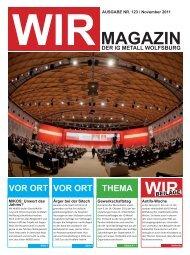 MAGAZIN WIR - IG Metall Wolfsburg