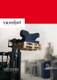 services - Voxeljet