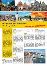 Masuren – Vilnius – Klaipeda – Riga – Tallinn - Bolliger Carreisen ...