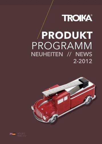PRODUKTPROGRAMM Neuheiten 2-2012 NE-D E, PDF