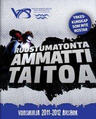 VUOSIKIRJA 2011-2012 ÅRSBOK - Vaasa
