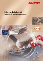 Industrie-Klebetechnik - Loctite