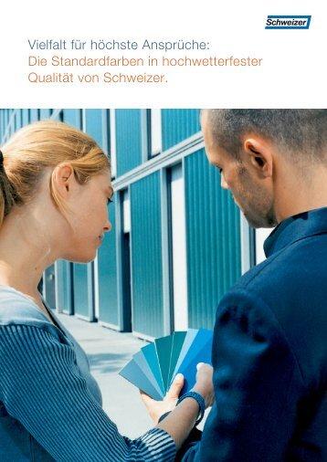 Standardfarben (pdf, 731 KB) - Schweizer Metallbau