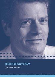 mka en de juiste maat - RePub - Erasmus Universiteit Rotterdam