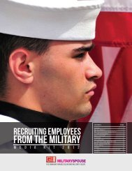 Recruiting EmpLoyees From The MILITARY - GI Jobs
