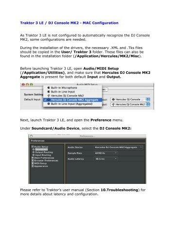 dj console mk4 software  mac