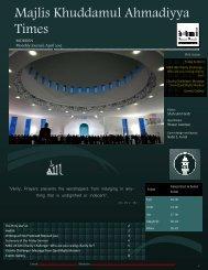 MKA Morden Newsletter - April 2012 - Majlis Khuddamul Ahmadiyya ...
