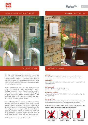 MK Catalogue 2011.indb - MK Electric