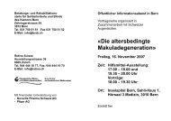 18.00 und 19.30 – 20.00 Uhr Vorträge: 18.00 – 19.30 Uhr Ort