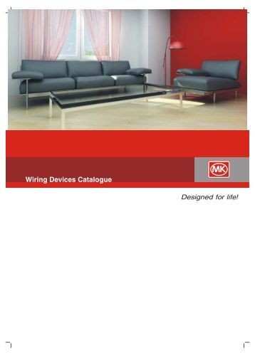 Wiring Devices Catalogue - MK Electric
