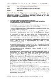 Protokoll der Infoveranstaltung am 2.9.2010 - Hennef
