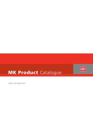 MK Product Catalogue - MK Electric