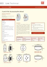 Technical specification - MK Electric