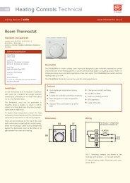 Heating Controls Technical - MK Electric