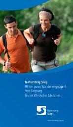 Natursteig Sieg - Gemeinde Windeck