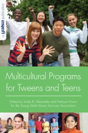 Multicultural Programs for Tweens and Teens - ALA Store ...