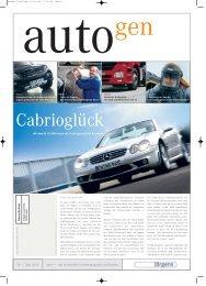 Nr. 1 Mai 2005 - Jürgens GmbH - Mercedes-Benz Deutschland