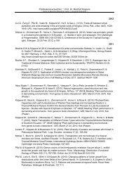 Publikationsverzeichnis - Institut für Botanik, Universität Hohenheim