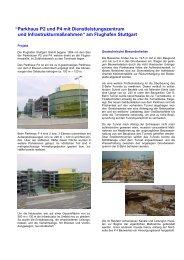 Terminal 1 bis 4 / Parkhaus P 2-4 - Henke und Partner GmbH