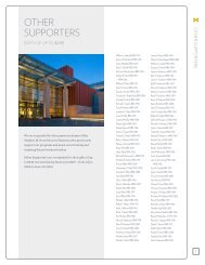 other supporters - Stephen M. Ross School of Business - University ...