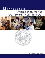 Minnesota Department of Employment and Economic ...