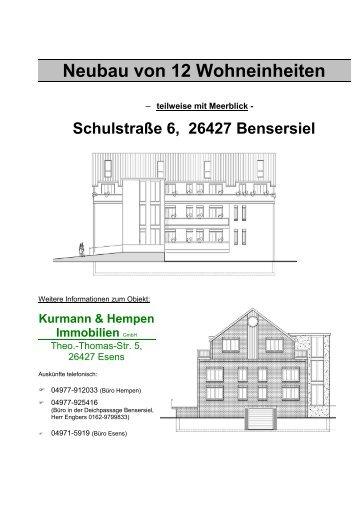 Neubau von 12 Wohneinheiten