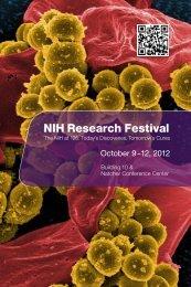 NIH Research Festival 2012 Program - Research Festival - National ...