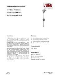 Datenblatt - SUKU - Druck