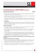 STABIL Premium - LEHR Rollladen-Kastensysteme - Seite 2