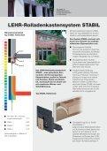 LEHR_System Stabil - LEHR Rollladen-Kastensysteme - Seite 2