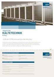 kältetechnik - Schweizerische Technische Fachschule (STF)
