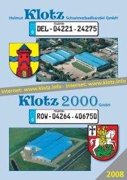 DEL - 04221-24275 Row - 04264-406750 - Helmut Klotz ...