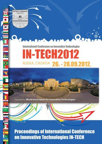 International Conference on Innovative Technologies IN-TECH 2012