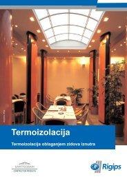 Termoizolacija - Rigips