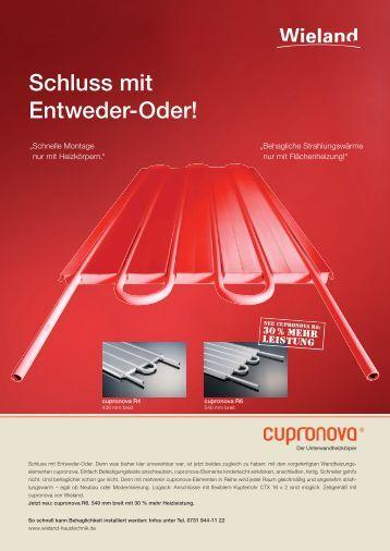 cupronova R6 - Wieland Haustechnik