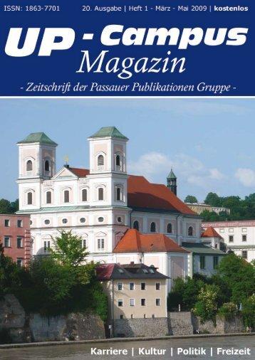 DAS AUCH SPASS MACHT! - UP-Campus Magazin