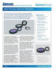 Opto-Physics Polarizers - Specac