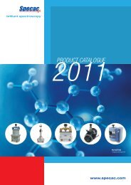 2011 Product Catalogue - Specac