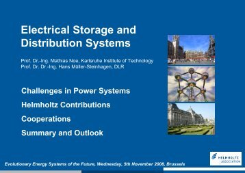 Prof. Mathias Noe, Karlsruhe Institute of Technology in
