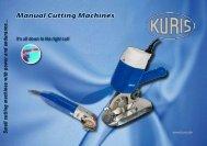 Manual cutting machines english - Kuris Spezialmaschinen GmbH