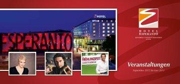 Veranstaltungen - ESPERANTO – Hotel & Kongresszentrum Fulda