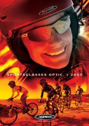 SPORTSGLASSES OPTIC > 2007 - Alpina