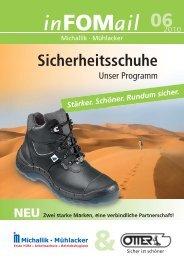 Sicherheitsschuhe - Fritz Oskar Michallik GmbH & Co.