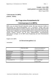 1-Aminopropan-2-ol - Bundesanstalt für Arbeitsschutz und ...